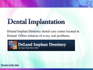 Dentist lady lake