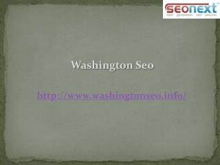 Washington DC Seo