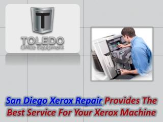 San Diego Xerox Repair