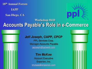 Accounts Payable's Role in e-Commerce
