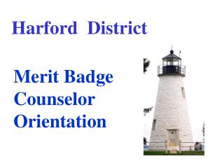 Merit Badge Counselor Orientation