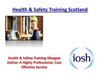 Health & Safety Training Scotland