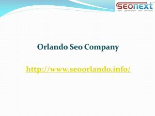 Orlando Seo Companies