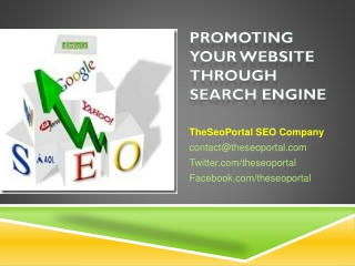 Website Promotion from TheSeoPortal