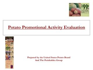 Potato Promotional Activity Evaluation