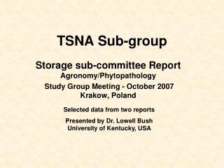 TSNA Sub-group