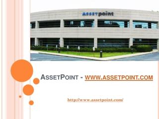 AssetPoint - www.assetpoint.com