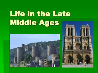 Life in the Late Middle Ages