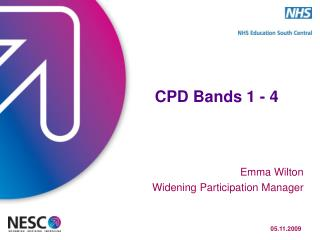 CPD Bands 1 - 4