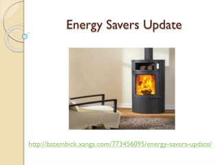 Energy Savers Update