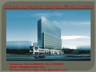 Unitech Projects in Noida