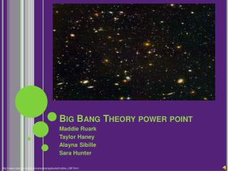 Big Bang Theory power point