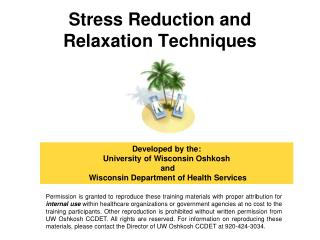Stress Reduction and Relaxation Techniques