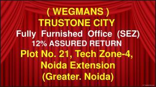 trustone city noida , call 9654953105, wegmans sez