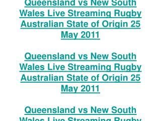queensland vs new south wales live streaming rugby australia