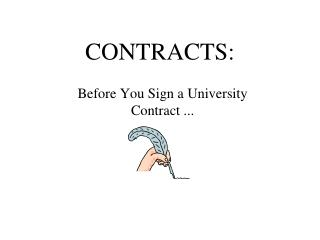 CONTRACTS:
