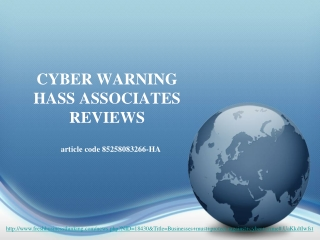 cyber warning hass associates reviews, BUSINESSES MUST PROTE