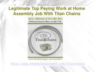 unprecedented home assembly offer from titan chains