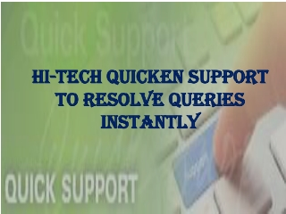 quick support