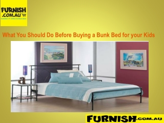 WHAT YOU SHOULD DO BEFORE BUYING A BUNK BED FOR YOUR KIDS
