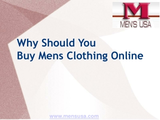 Mensusa online clothing