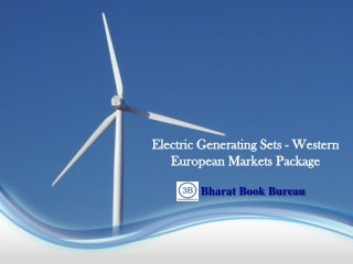 Electric Generating Sets - Western European Markets Packag