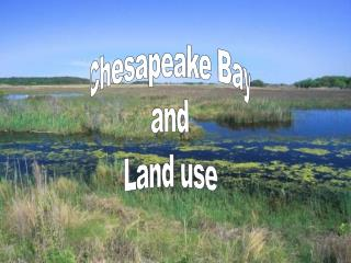 Chesapeake Bay and Land Use