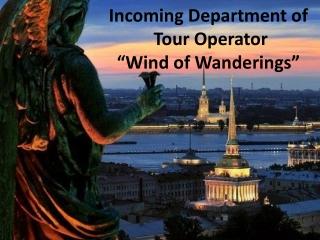 Saint-Petersburg travel presentation by wind of tavelling