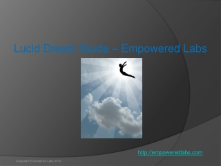 Lucid dream guide - Empowered Labs