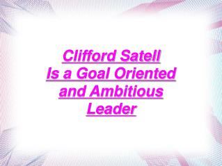 about clifford satell