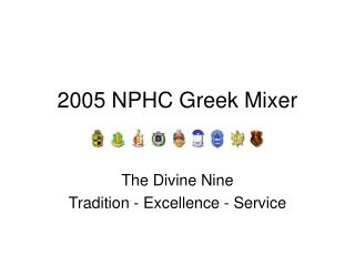 2005 NPHC Greek Mixer