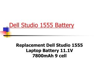 Dell Studio 1555 Battery