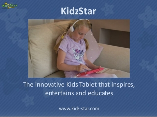 Kids tablet from Kidzstar