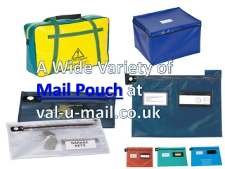 A Wide Variety of Mail Pouch at val-u-mail.co.uk