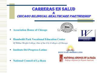 Carreras En Salud A Chicago Bilingual Healthcare Partnership