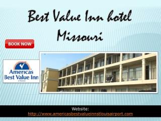 best value Inn hotel missouri