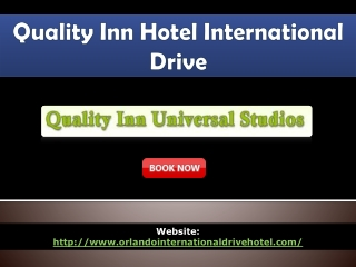 quality inn hotel International Drive