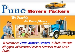 Pune Movers Packers