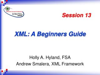 XML: A Beginners Guide