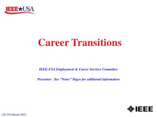Career Transitions