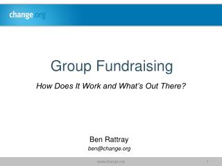Group Fundraising