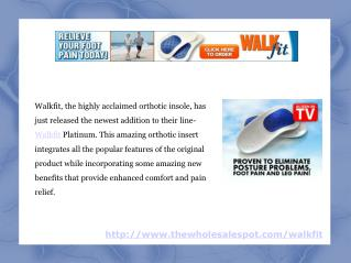 walkfit platinum inserts setting new standards for orthotics