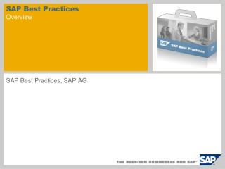 SAP Best Practices Overview