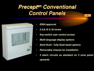 Precept en  Conventional  Control Panels