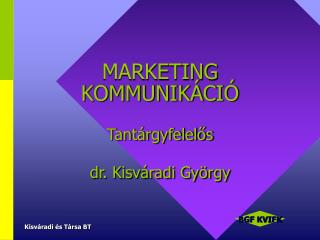 MARKETING KOMMUNIK