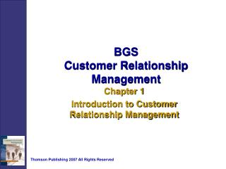 BGS Customer Relationship Management