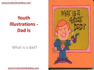 Youth Illustrations - Dad Is