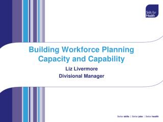 Building Workforce Planning Capacity and Capability