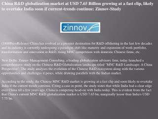 china r&d globalization market at usd 7.65 billion growing a