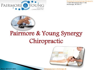 Pairmore & young synergy chiropractic in anchorage, ak